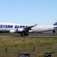 Western Global N344KD, OSL ENGM Gardermoen