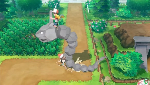 Pokemon Let's Go Pikachu - Riding Pokemon