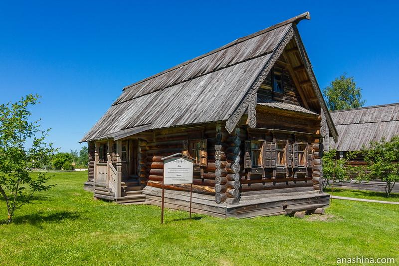 Дом из деревни Васенино Гороховецкого района, Музей деревянного зодчества, Суздаль