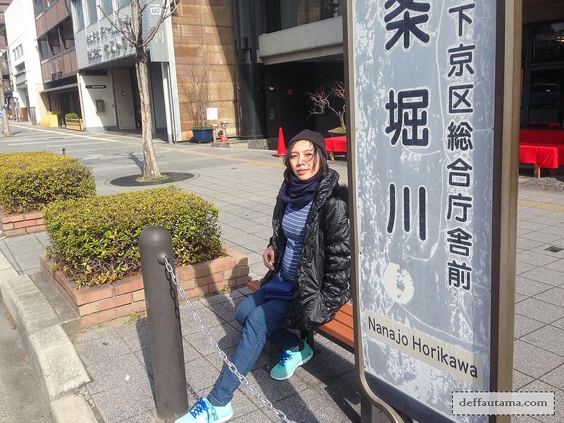 Babymoon ke Jepang - Kyoto Bus Stop