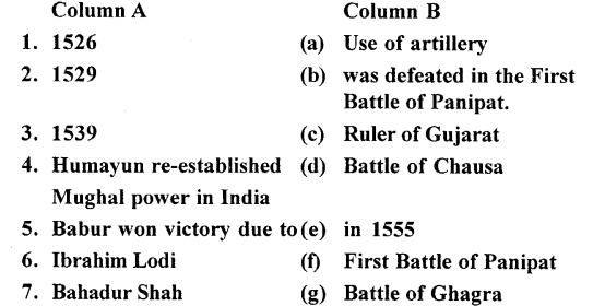 ICSE Solutions for Class 7 History and Civics - Foundation of Mughal Empire-01