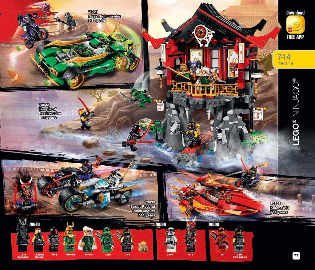 LEGO 2018 Summer Catalogue - Page 77