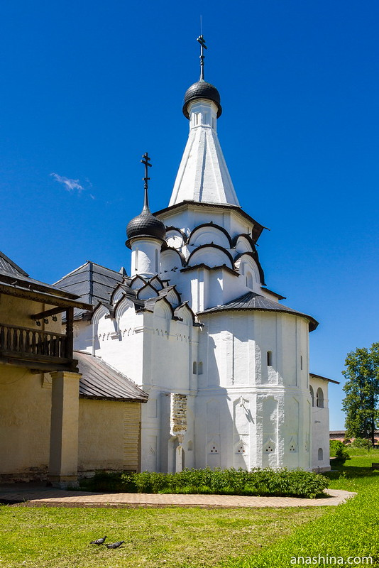 Успенская трапезная церковь, Спасо-Евфимиев монастырь, Суздаль