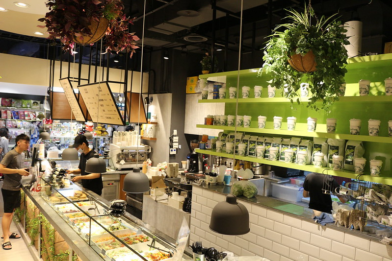[A8林口機捷美食]蔬坊The Greenery:清涼一夏~吃不膩的百變沙拉吧.綠色系清爽風打卡餐廳 @ Froda生活日記 :: 痞 ...
