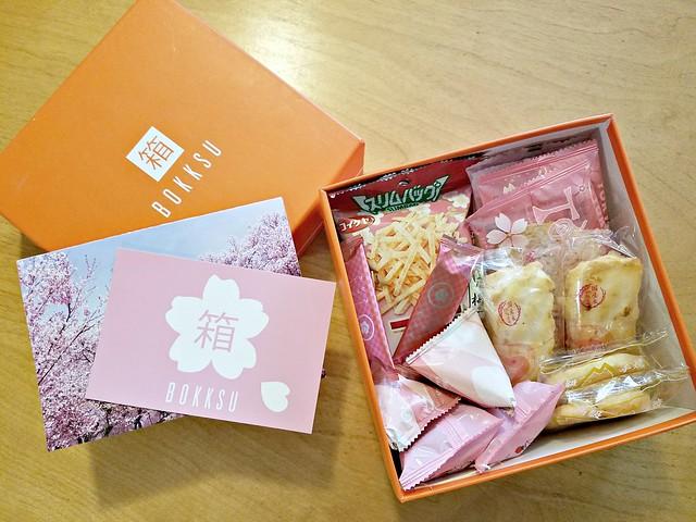 Bokksu ~ April's Blossoming Spring Box Unboxing