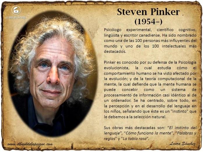 El Baúl de los Autores: Steven Pinker