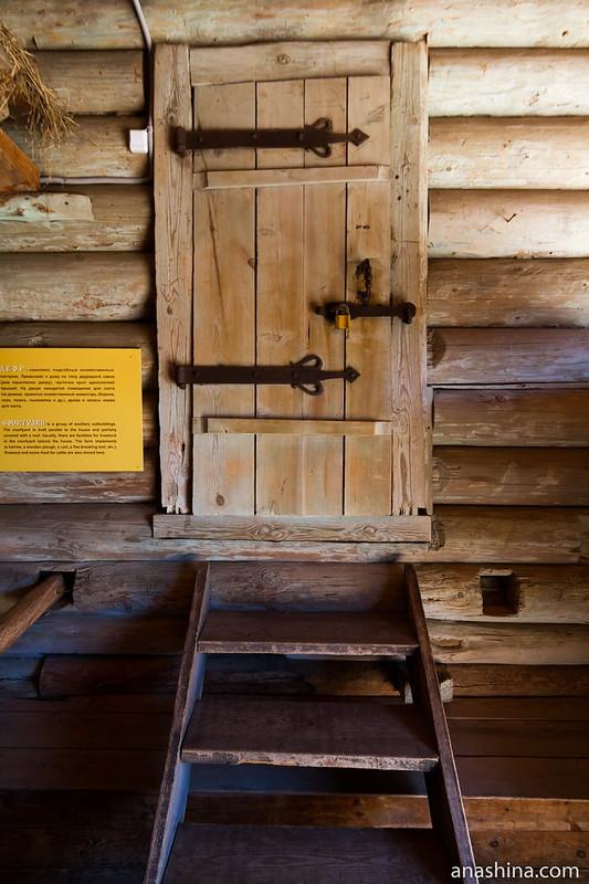 Дверь, музей деревянного зодчества, Суздаль