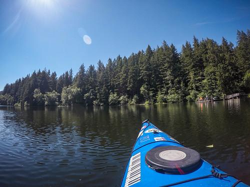 Paddling Lake Padden-008