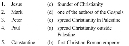 ICSE Solutions for Class 7 History and Civics - Medieval Europe - Rise and Spread of Christianity - HIS-015