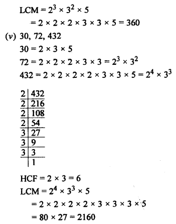 RS Aggarwal Class 10 Solutions Chapter 1 Real Numbers