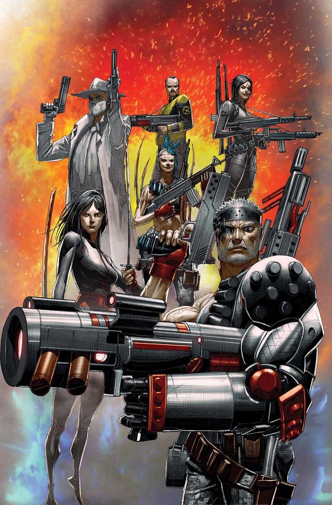 在死侍2登場的「X特攻隊」究竟是什麼來頭?超煞氣的《X特攻隊》怪咖組隊!   玩具人Toy People News