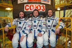 Soyuz MS-09 crew