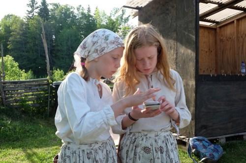 Olivia Strand och Stina Flyckt