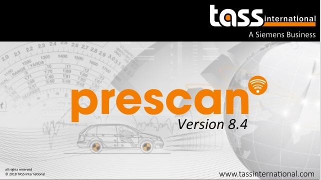 TASS International PreSCAN 8.4.0 full license