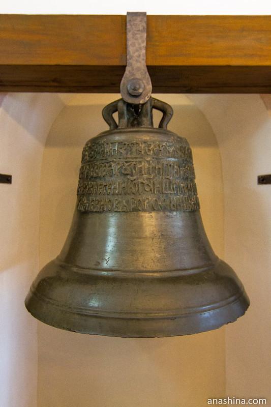 Колокол из Борисоглебского монастыря в Кидекше