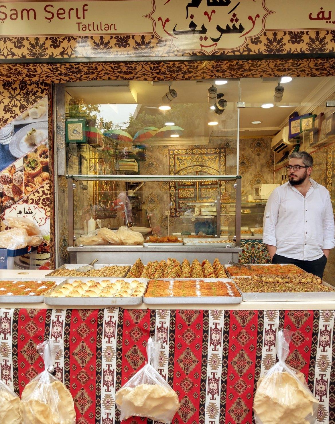 8) Syrian Sweet Shop Fatih Nieghbourhood
