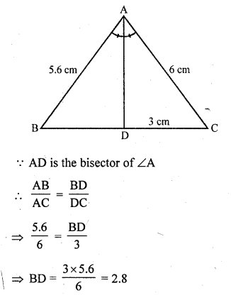 RD Sharma Solutions Class 10 Chapter 4 Triangles