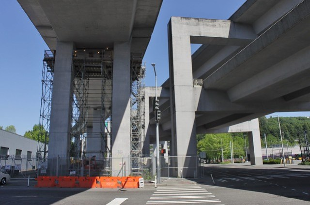 D2 Roadway crossing over 6th Avenue
