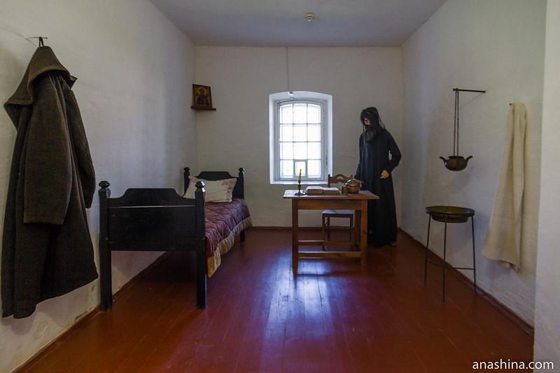 Тюремная камера, реконструкция, Спасо-Евфимиев монастырь, Суздаль