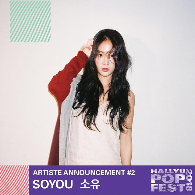 HallyuPopFest 2018 - SOYOU