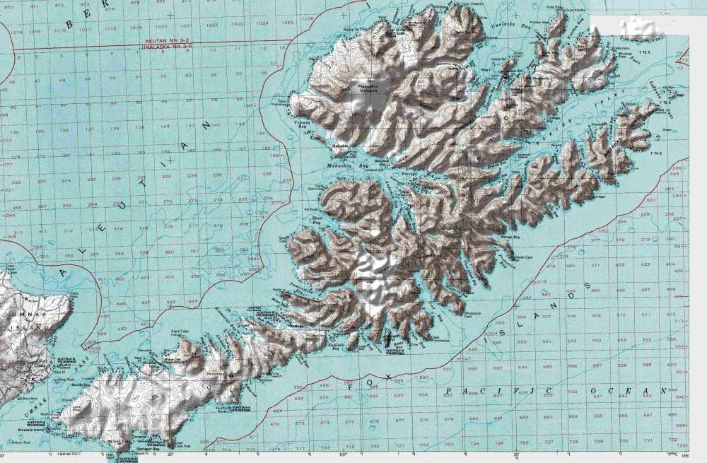 medium resolution of map of unalaska island in the aleutians