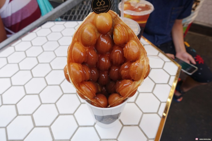 [宜蘭美食]波波食堂Bubble House~羅東夜市裡的人氣店家.可以依照個人喜好加料又加醬 @VIVIYU小世界