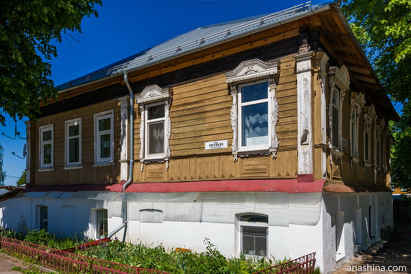 Дом с красивыми наличниками, Суздаль