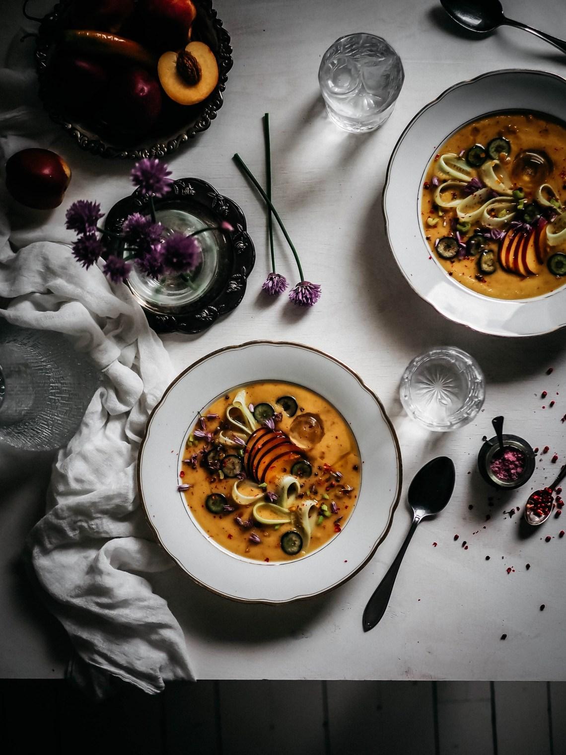 nektariinigazpacho
