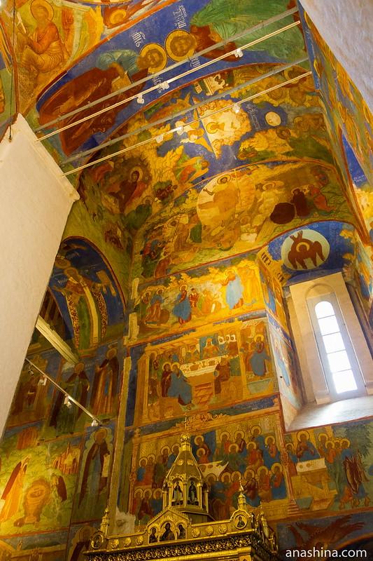 Фрески Спасо-Преображенского собора, Спасо-Евфимиев монастырь, Суздаль