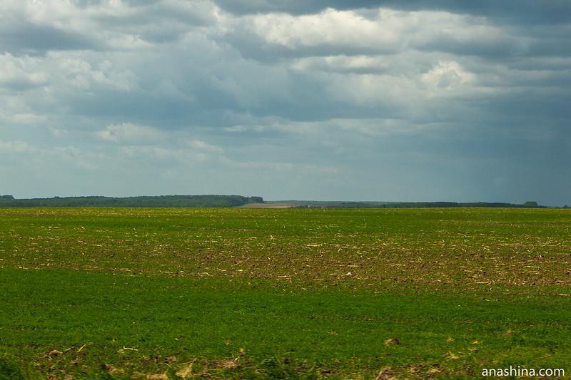 Возделанное поле