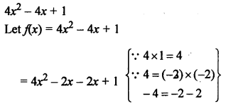 RS Aggarwal Class 10 Solutions Chapter 2 Polynomials Ex 2A