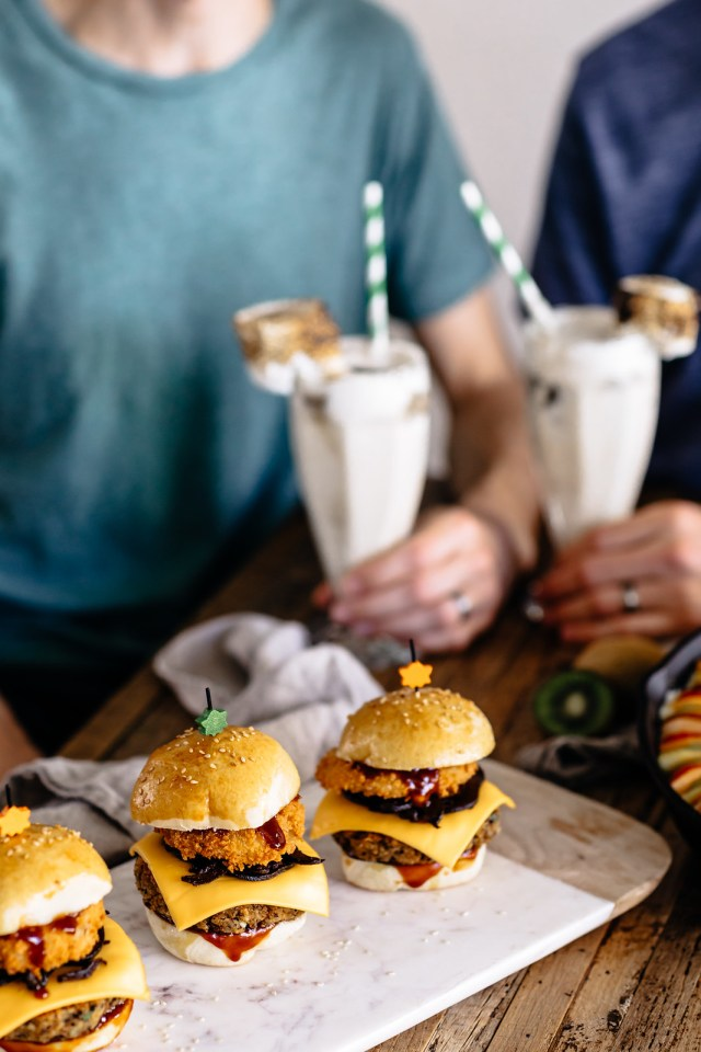 burgers and milkshakes