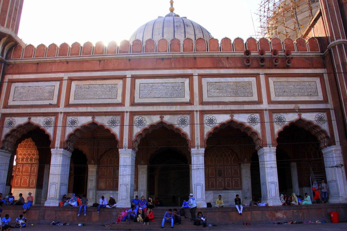 Jama Masjid is a must visit attraction in Delhi