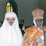 الأنبا بيشوي مطران دمياط مع أبونا فيلبس بطريرك إريتريا