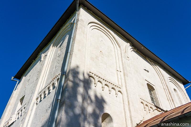 Западный и южный фасады Борисоглебской церкви, Кидекша