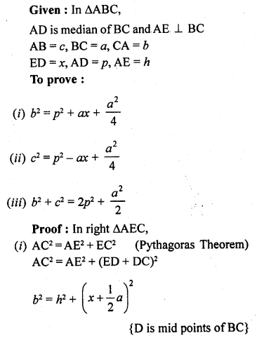 RD Sharma Maths Book For Class 10 Solution Chapter 4 Triangles