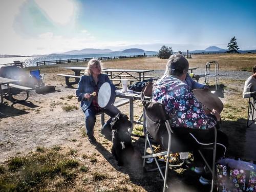 Drum Circle at Bayview State Park-003
