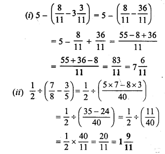 Selina Concise Mathematics Class 6 ICSE Solutions Chapter