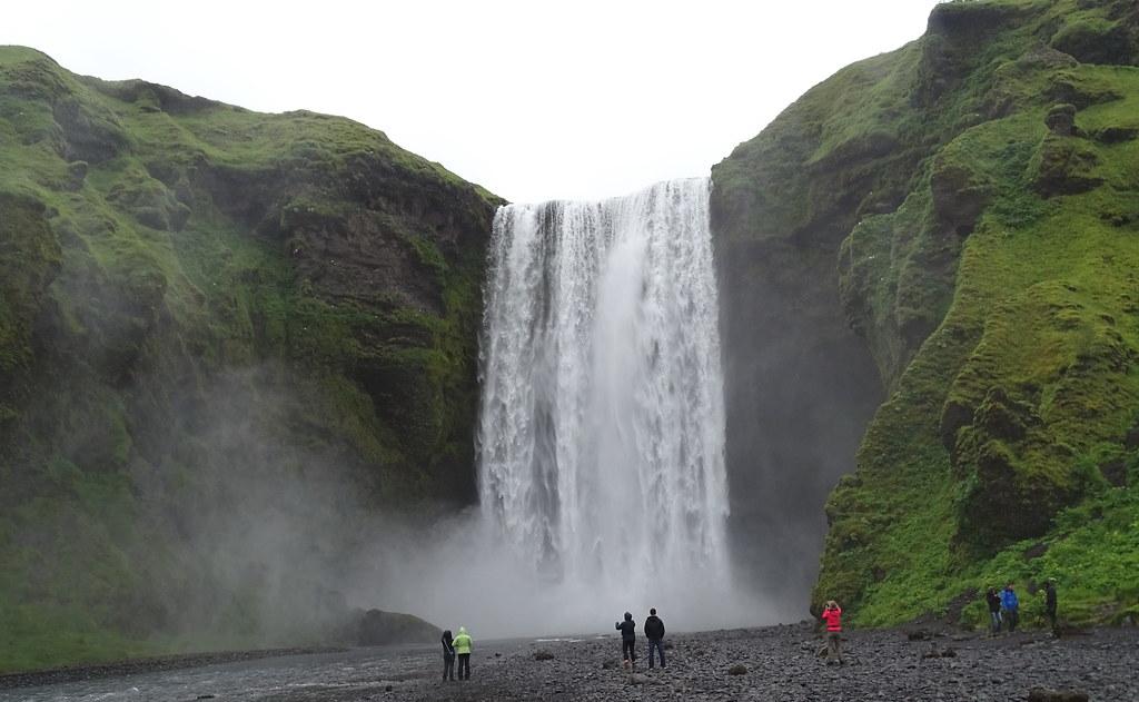 Cascada Skogafoss Islandia 02