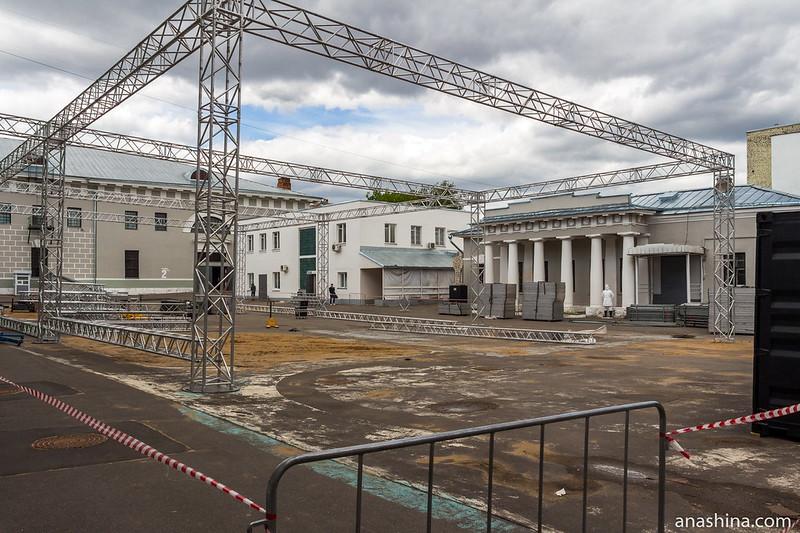 Летняя площадка Музея Москвы, Провиантские склады