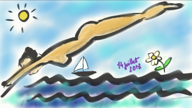 Plongeon dans la Mer Egée