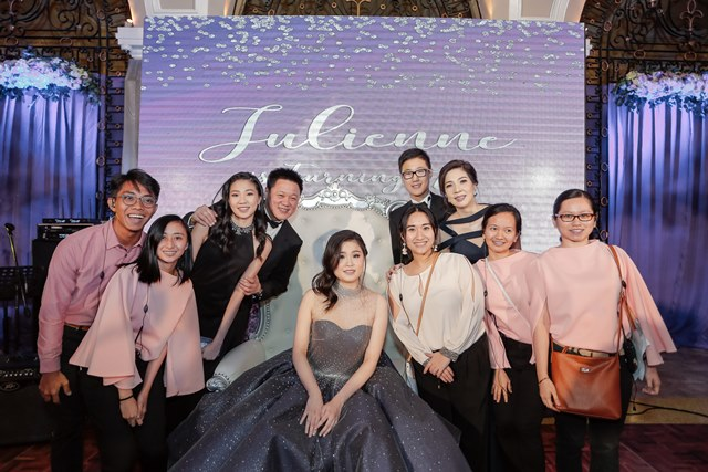 pdm team with our 1st debutante