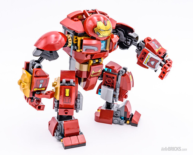 REVIEW LEGO Marvel 76104 The Hulkbuster Smash-Up 07