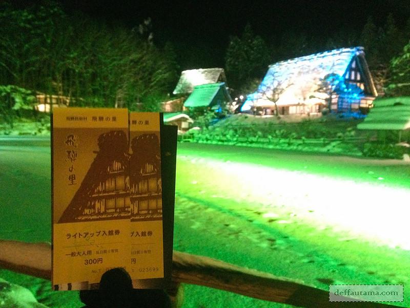 Babymoon ke Jepang - Hida Folk Village Ticket