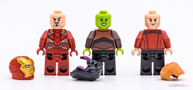 REVIEW LEGO Marvel 76107 Thanos Ultimate Battle 04