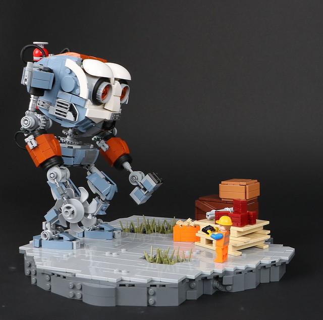 GM-20 (Marvin) 2033 Model Construction mech