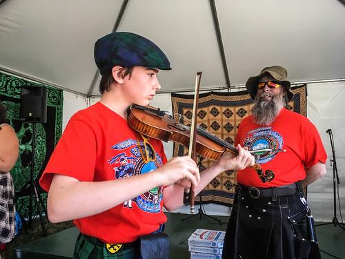Johann with Fiddle