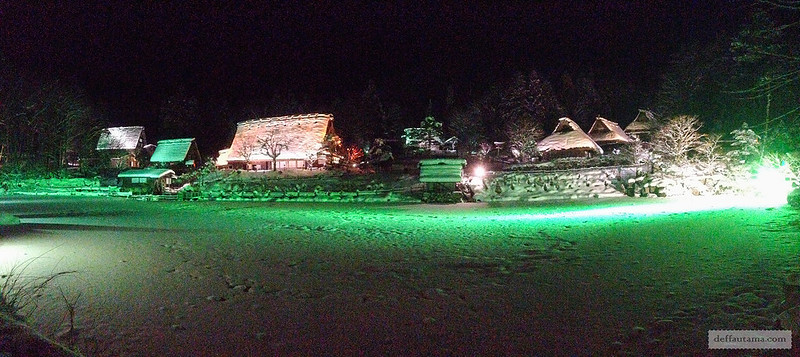 Babymoon ke Jepang - Hida Folk Village Winter Illumination