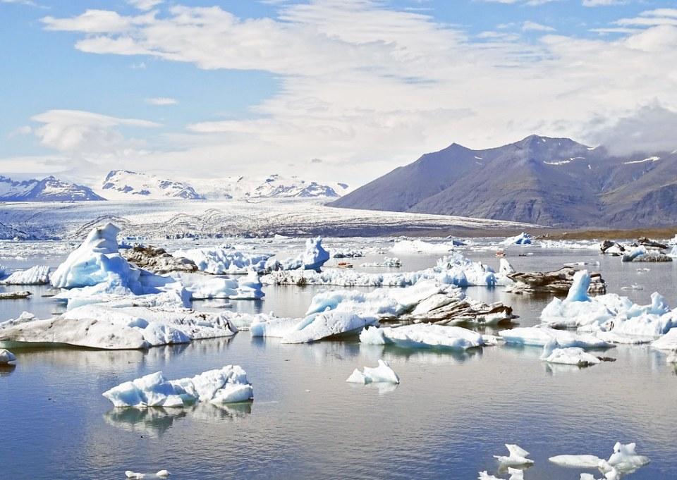 Laguna Jokulsarlon en el glaciar Vatnajokull Islandia 08