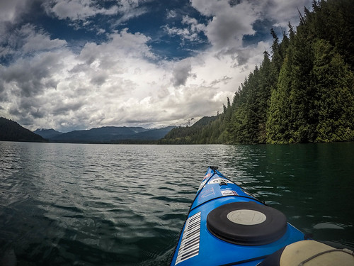 Kayaking on Baker Lake-157
